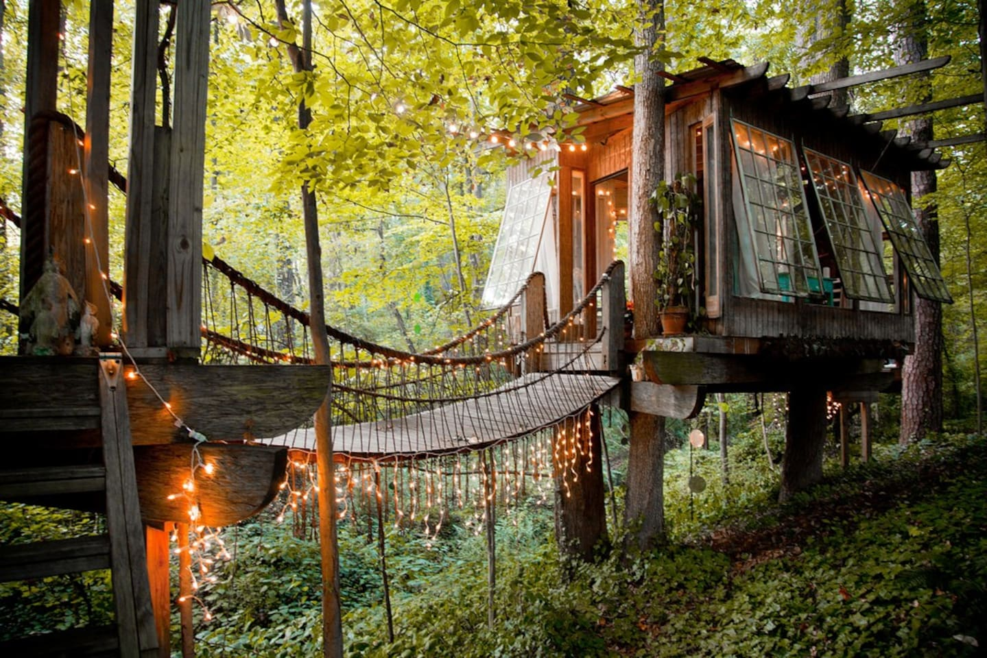 Treehouse on Airbnb
