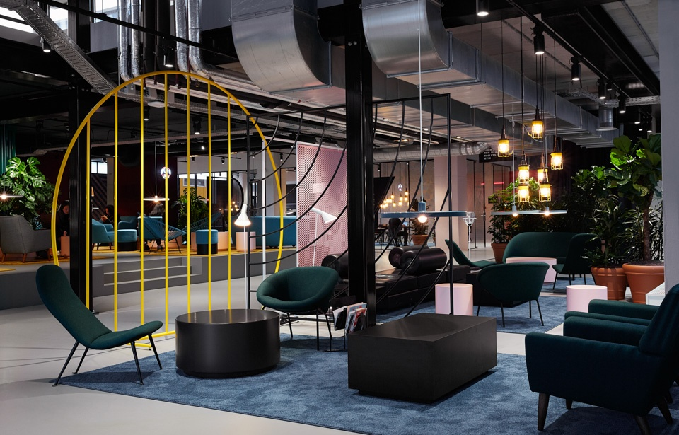 Student Hotel Amsterdam City_Communal Area