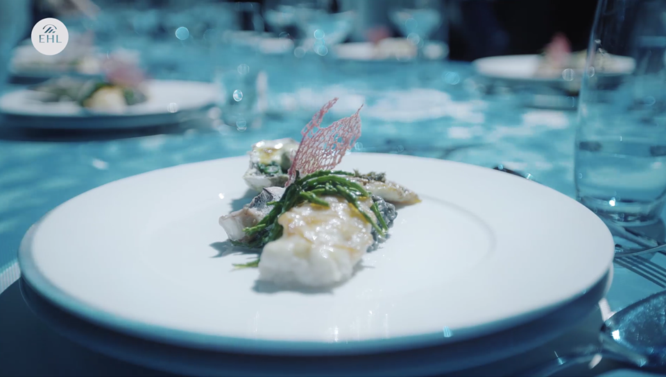The concept restaurant Elysium takes the guests on a multi-sensory culinary journey