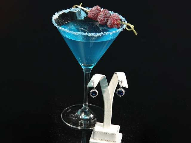 Relish yourself with Sapphire Martini